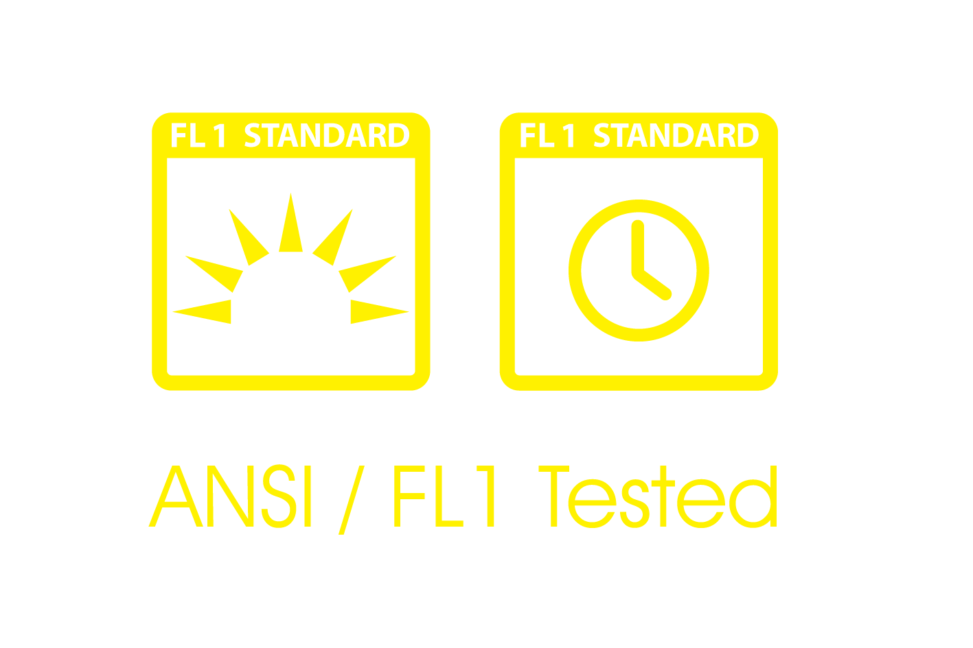 ANSI FL-1 TESTED